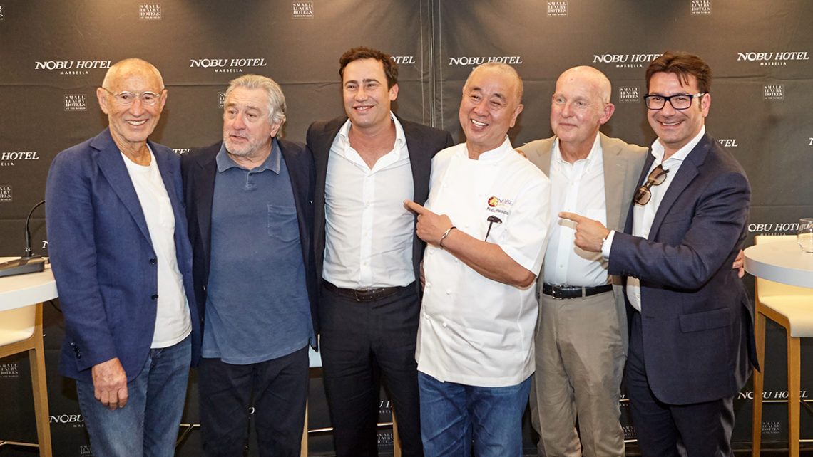 The long-awaited Nobu Hotel Marbella official opening by Robert De Niro and the Chef Nobu | Photos by Pedro Jaen © 2018 | pedrojaen.com