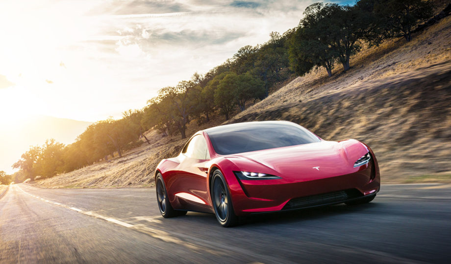 Tesla Roadster, the quickest car in the world is also electric