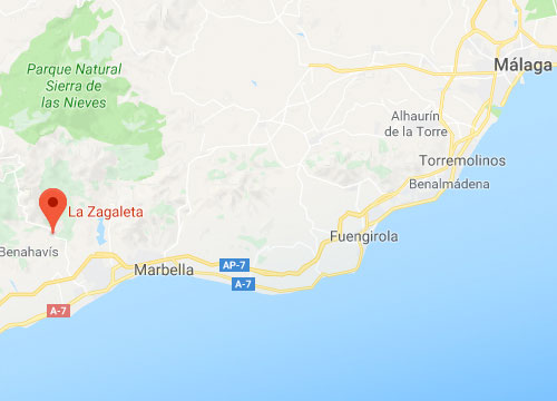 La Zagaleta, Google Maps Location