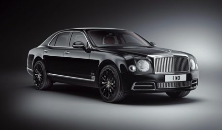Bentley celebrates a milestone anniversary with the Mulsanne W.O. Edition by Mulliner