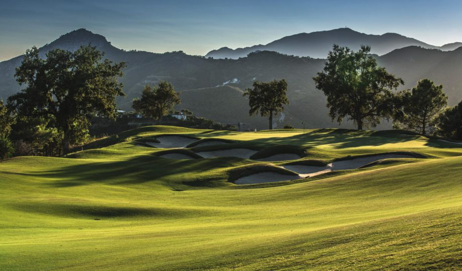 Dos Campos de Golf privados