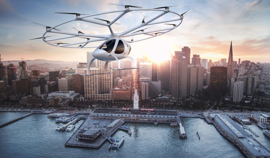 Volocopter reinventa la movilidad urbana