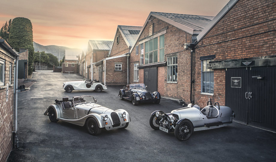 Morgan Motor Company presents special edition models in celebration of their 110th Anniversary