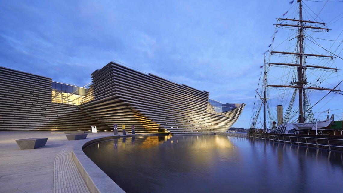 Victoria & Albert Dundee becomes Scotland's first design museum
