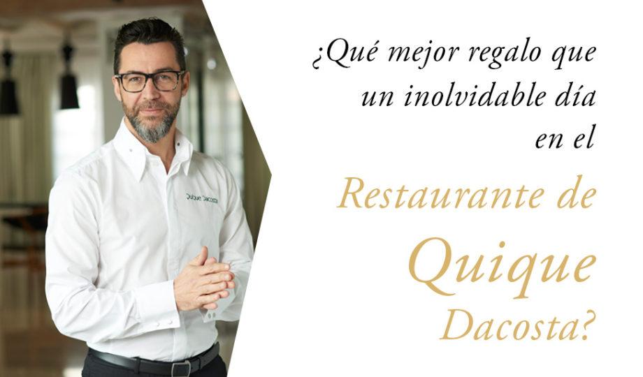 Quique Dacosta abre su primer restaurante en Londres.