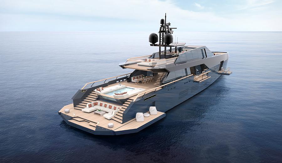 The 165 Wallypower breaks new waves in Mediterranean cruising