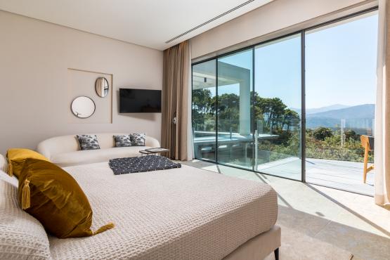 Dormitorio villa z'Unica